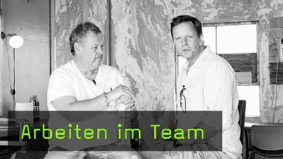 Teammitglieder in der Fotografie