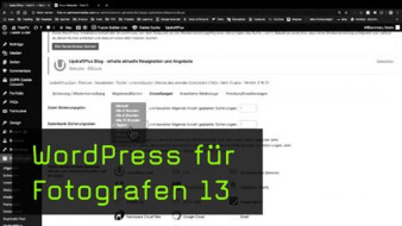 Back-ups von WordPress-Seiten erstellen und Aktualisierungen