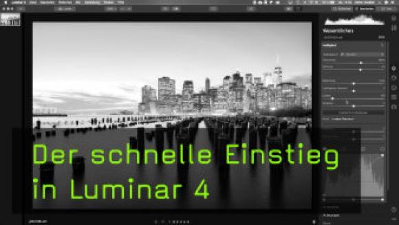 Die Oberfläche von Luminar 4 erklärt