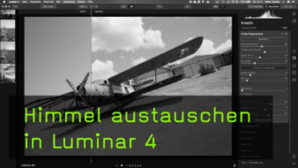 Sky Replacement in Luminar anwenden