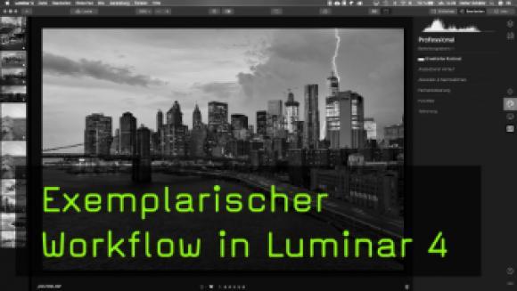 Bearbeitungs-Workflow in Luminar 4