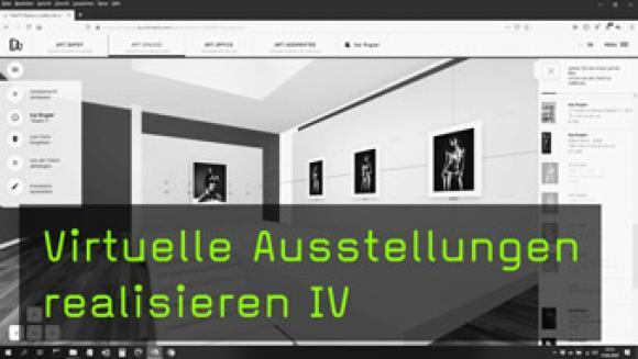Fotografien für virtuelle Galerien kuratieren