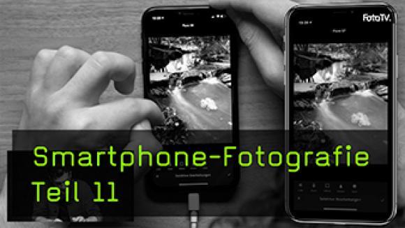 Die Smartphone Bildbearbeitung von Stadtlandschaften