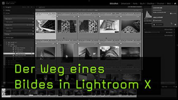 der Weg eines Bildes in Lightroom X
