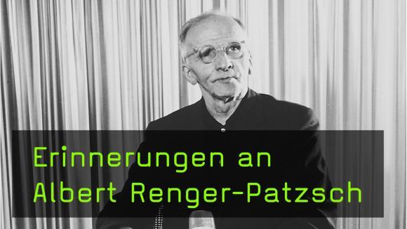 Renate Gruber über den Fotografen Albert Renger-Patzsch