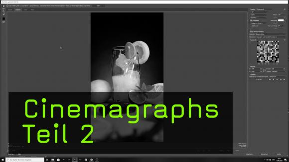 Die Nachbearbeitung von Cinemagraphs in Photoshop