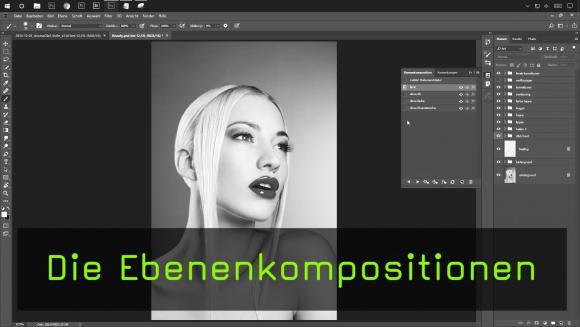 Ebenenkompositionen in Photoshop