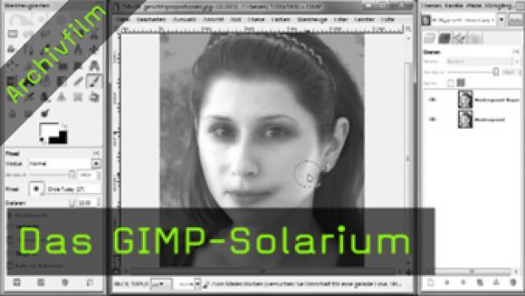 Haut bräunen, GIMP, Portrait, digitale Bildbearbeitung, Masken