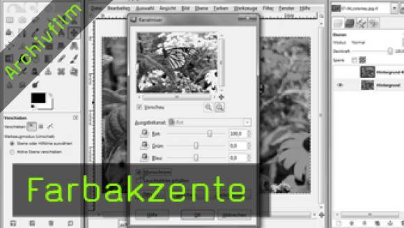Bernhard Stockmann, Gimp Tutorial, digitale Bildbearbeitung