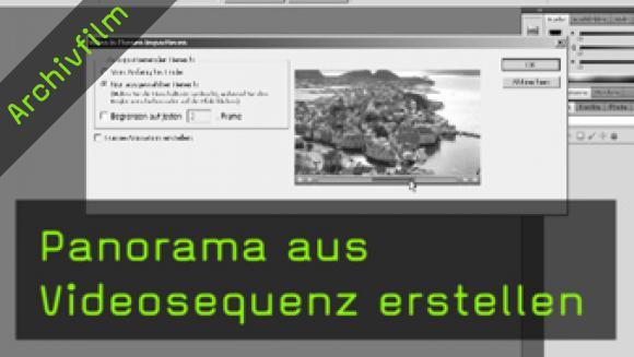 Panoramafotografie, Videografie, Merge-Funktion