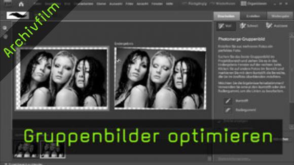Photomerge-Gruppenbild, Photoshop Elements