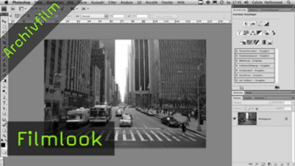 Calvin Hollywood Photoshop Filmlook