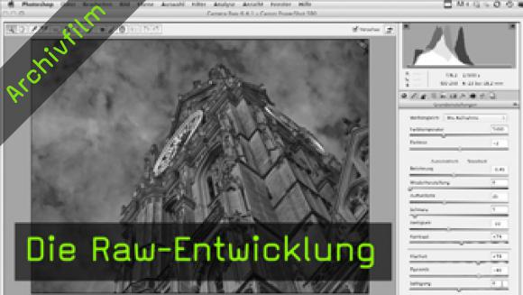 Raw-Entwicklung, Photoshop CS5