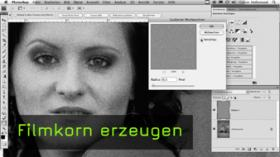 Calvin Hollywood Photoshop Füllmethoden, Photoshop Ebenen Filmkorn erzeugen
