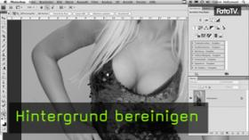 Calvin Hollywood Photoshop Störungsfilter, Photoshop Hintergrund