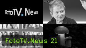FotoTV.News 21: Paolo Roversi Ausstellung, LensAvenue, Studiogast: Ute Allendörfer von der fotocommunity