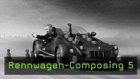Bild-Composing, CGI, Photoshop, Cinema 4D, MoGraph, Splines
