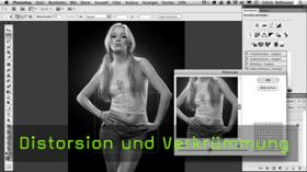 Calvin Hollywood Photoshop verzerren