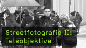Streetfotografie mit Teleobjektiv