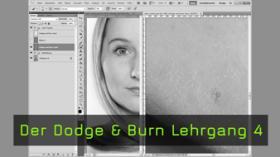 Pixelbasierte Hautretusche, Dodge & Burn
