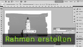 Rahmen erstellen in Photoshop