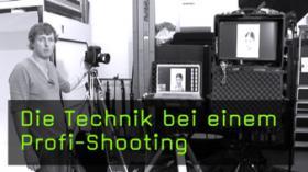 Technik beim Profi-Shooting