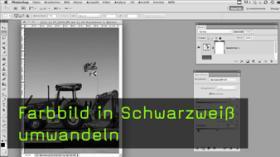 SW-Umwandlung in Photoshop