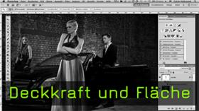 Calvin Hollywood Photoshop Deckkraft, Flächen füllen Photoshop