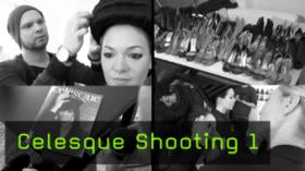 Editorial Shooting Celesque Visa Styling Hair