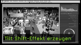 Tilt-Shift-Effekt in Lightroom