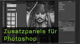 Zusatzpanels für Photoshop
