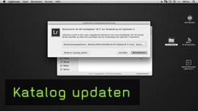 Lightroom Katalog updaten