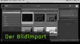Bildimport in Lightroom