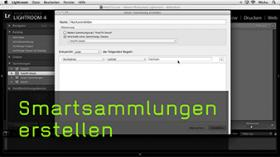 Smartsammlungen in Lightroom