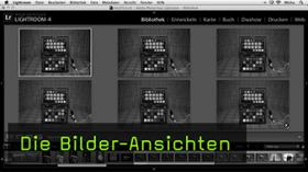 Anischten in Lightroom