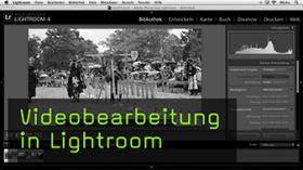 Videobearbeitung in Lightroom