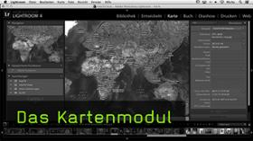 Das Kartenmodul in Lightroom