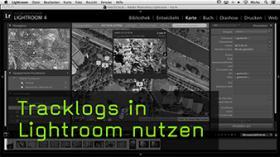 Tracklogs erzeugen und in Lightroom einfügen