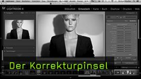 Korrekturpinsel in Lightroom