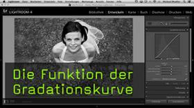 Gradationskurve in Lightroom