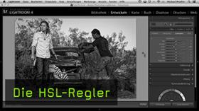 HSL-Regler in Lightroom