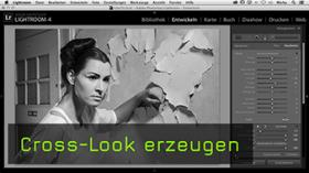 Cross-Look in Lightroom