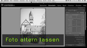 Altes Bild in Lightroom erstellen