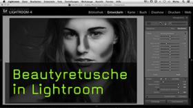 Beautyretusche in Lightroom