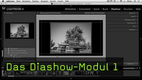 Diashow-Modul Lightroom