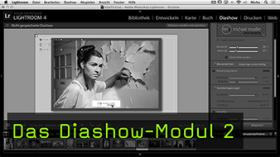 Diashow-Modul Lightroom
