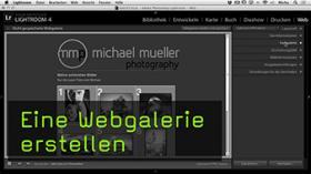 Webgalerie mit Lightroom erstellen