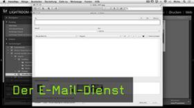 Lightroom E-Mail-Dienst