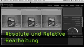 relative Bearbeitung in Lightroom