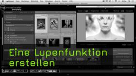 Lupe in Lightroom bauen
